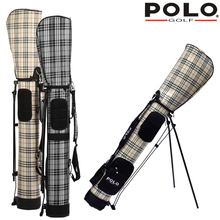 brand POLO  golf gun bag rack tripod backpack High resistance PU bag High density nylon golf bag water-proof wear-resistant