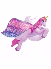 2016 New Flying Unicorn Figure Magically Flying Dolls Flying Fairy Toys Control Flying Fairy Baby Toy Without Original Package