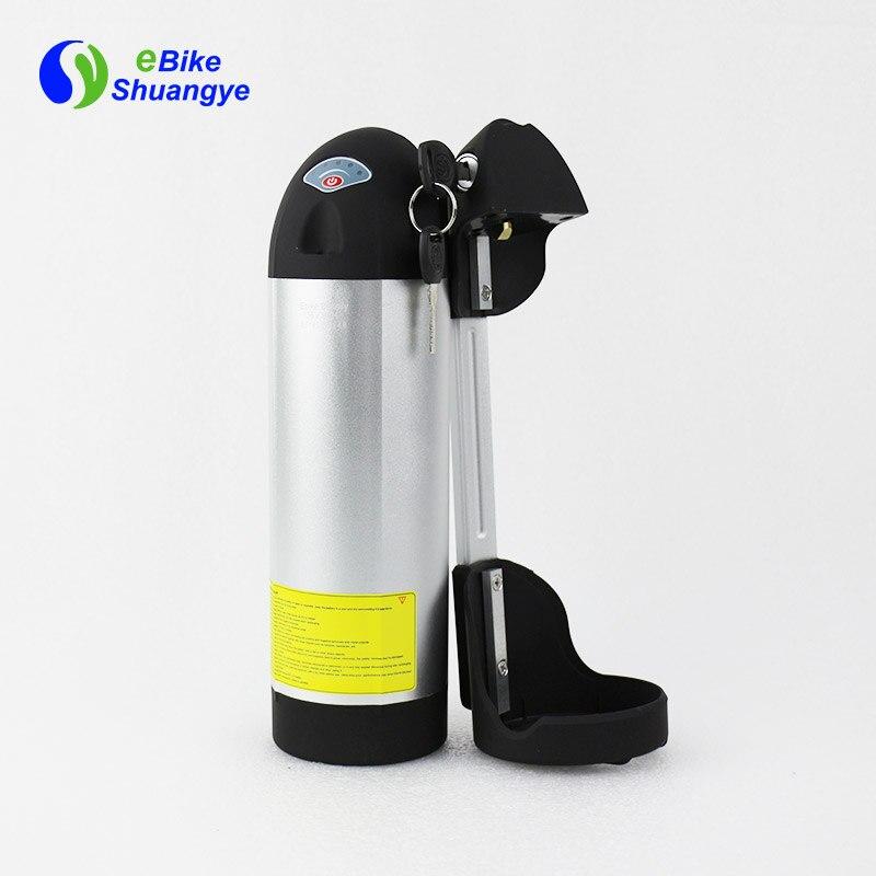 36v 12ah high quality bottle lithium battery pack for electric bike