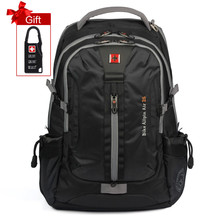 Swisswin Swissgear design Men's Women's Daily Backpack with Laptop Sleeve and headphone jack Large Capacity Bag For Travel 2016