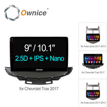 "9"" Ownice C500+ Octa 8 Core Android 6.0 car audio For Chevrolet Trax Aveo 2011 2012 2013 2017 car dvd player 4G LTE 2GB+32GB(China)"