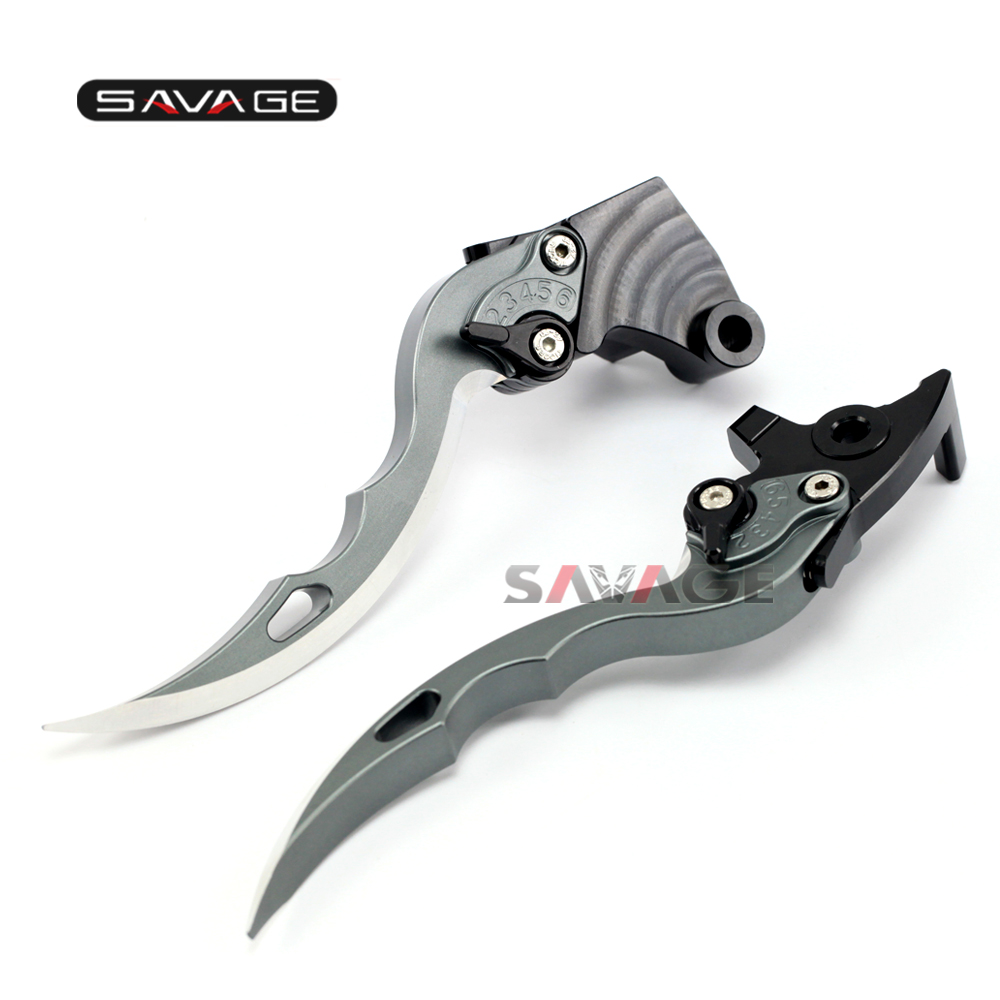 For KAWASAKI VN 650 Vulcan S 2015 2016 2017 Knife Blade CNC Long Brake &amp; Clutch Levers Motorcycle Accessories<br>