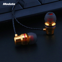 Professional In-ear Earphones Super Bass Metal Headset Noise Reduction Earplugs With Mic For iPhone Smart Phone MP3