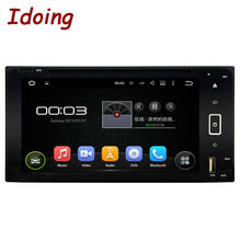 Idoing Android WIFI For Toyota Universal Multimedya Car Video Player Touch Screen Quad Core 1080P Audio Wifi GPS Navigation TV