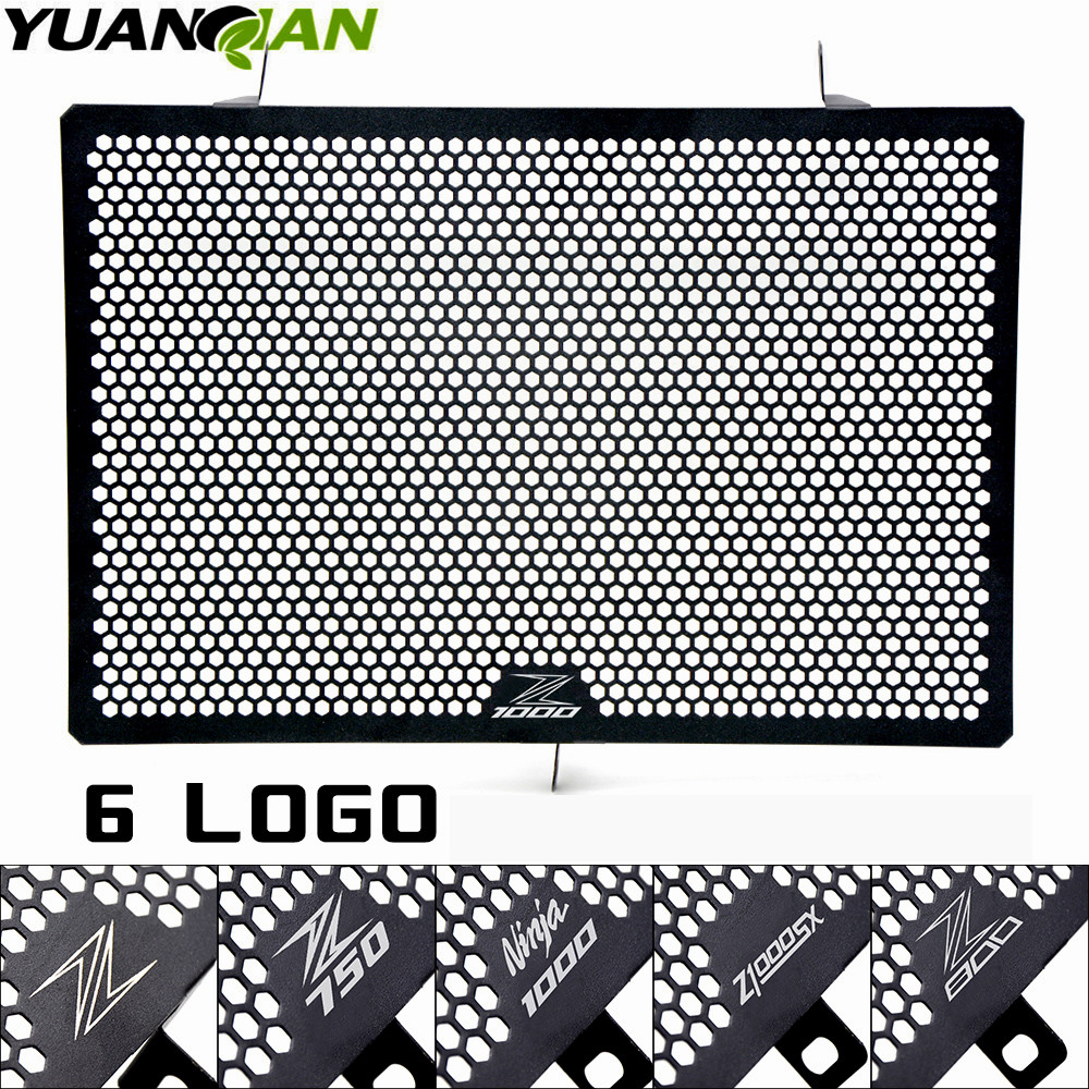 Motorcycle accessories radiator guard protector grille grill cover protection for KAWASAKI Z750 Z800 Z1000 Z1000SX NINJA 1000<br>