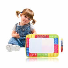 29*19cm Mini Water Writing Painting Drawing Mat Aquadoodle Board &Magic Pen Water Drawing Board Kid Doodle Play Mat(China)