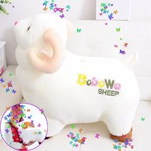 1 PC New Cute Sheep Toy Simulation Sheep Plush Toy Soft Cotton Stuffing Stuffed Animals Doll Child Gifts 23cm