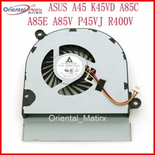 Free Shipping New KSB06105HA Fan For ASUS A45 K45VD A85C A85E A85V P45VJ R400V Laptop CPU Cooling Fan