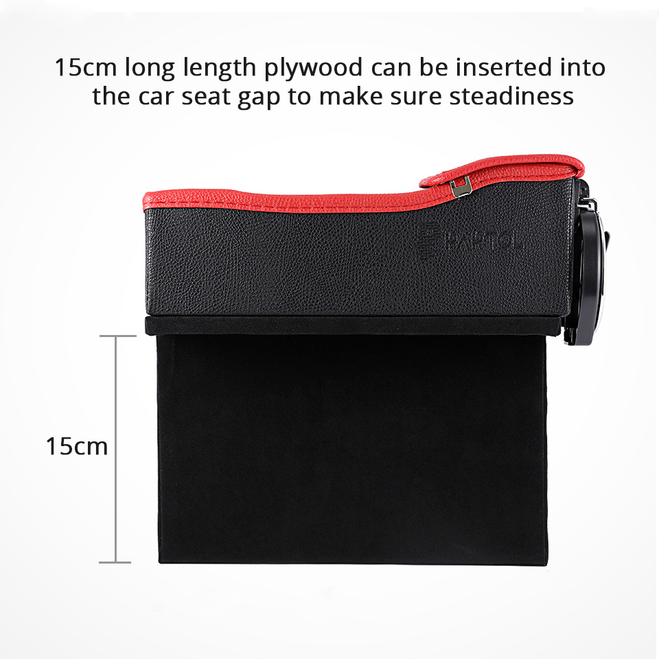 قاعدة لوضع الاغراض في السيارة مع شاحن usb 12