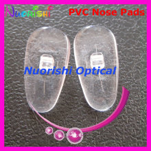 PV11   plastic pvc eyewear nose pads 13mm Screw-in type  glasses eyeglass accessories free shipping