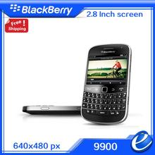 Refurbished Blackberry 9900 Bold Touch Original unlocked 3G Smartphone QWERTY+touchscreen  2.8inch,WiFi,GPS,5.0MP free shipping