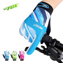 BAT FOX Autumn New Unisex Cycling Gloves Full Fingers Gloves Shockproof Breathable Outdoor Sports Gloves Los guantes