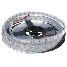 5M Waterproof IP67 Flexible 300 LED RGB LED Strip Light 5050 SMD Tape Tube Light Lamp Outdoor Home Decoration DC12V(China)