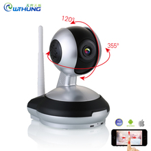 Wireless wifi IP Camera 720P/960P PTZ remote view control two way audio Motion detection SD Card storage for CCTV security Cam(China)