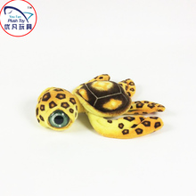 Sea turtle stuffed animal plush toy 2016 new toy model big eyed turtle for kids room decoration