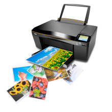 A4 paper,Magnetic paper inkjet printer, Magnetic photo paper sticker magnetic printing paper Quality Colorful Graphics Output(China)