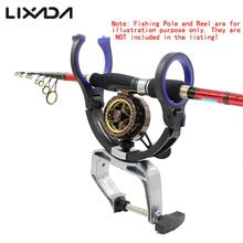 Raft Fishing Sea Fishing Rod Bracket Boat Fishing Pole Mount Aluminium Alloy Clamp Clip Stander Holder Fishing Tackle Tool