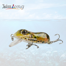 Mmlong 63mm Bionic Frog Fishing Lures MR03 Realistic Topwater Hard Fish Wobbler Artificial Fishing Crank bait lures Pesca(China)