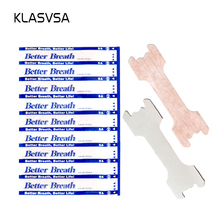 KLASVSA 100 pcs/pack Nasal Strips (Small/Medium) Better Breathe Anti Snoring Sleeping Reduce Snoring Aid Device Health Sleep