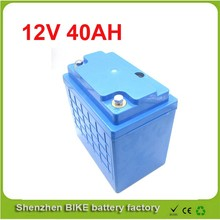 manufacturer supply lithium ion battery 12v 40ah for EV , Storage and Solar Street Light  12V Lifepo4 Electric Bicycle Battery