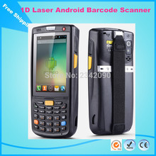 Rugged Multifunction Android dual-core 1.2 GHz handheld PDA wireless 1d barcode scanner handy data terminal(China)