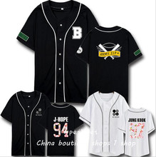 BTS wings album with plates youth concert support baseball shirts for men and women clothes T-shirt