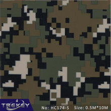 0.5M*10M Military Camouflage Water Transfer Printing Film HC174-S, Hydrographic film,Pva Water Soluble Film Hidrografik