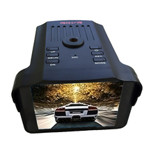 2 In 1 Car HD DVR Dush Camera 1080P Flow Speed Radar Detector 12V Digital Video Recorder Camcorder English Russia Optional(China)