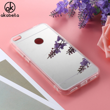 Soft TPU Phone Cases For Huawei P8 Lite 2017 Huawei Honor 8 Lite Nova Lite Case Plating Mirror Cover For Huawei GR3 2017 Silver