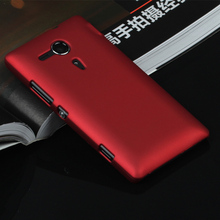 Luxury Rubber Matte Hard Case For Sony Xperia Z1 Z2 Z3 Z4 Z5 Compact Premium M2 M4 Aqua M5 E4G C3 C4 C5 X Performance cover(China)