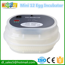 Capacity 12 eggs automatic egg incubator small egg incubator CE proved(China)