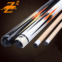 New Taco De Sinuca Pool Cues Billiard 13mm/11.5mm Tips 1/2 Jointed Pool Cue Stick Three Colors China 2016