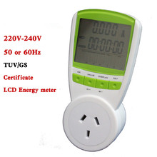 Digital Energy Saver energy Power Meter tester Electric Wireless Watt Consumption Monitor Analyzer energy meter AU plug