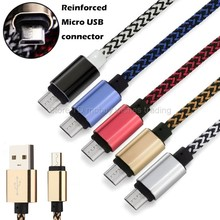 0.2M/short/1M/2M/3M/Long 1/2/3 Meter Nylon Braided Mobile Cell Phone Charger Charge Cable Cabel for Smartphone 100cm/200cm/300cm