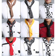 2017 new Free Shipping High quality neckerchief hotel uniform chef uniform restaurant neckerchief cook scarf chef scarf