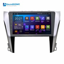 Pure Android 4.4.4 For Toyota Camry 2015 Autoradio Headunit Auto Car Radio Stereo GPS Navigation Sat Navi Multimedia System