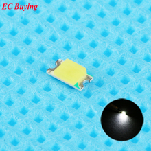 100pcs 0805 (2012) SMD White LED Chip Surface Mount SMT Beads Ultra Bright Light Emitting Diode LED Lamp DIY Practice Highlight