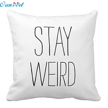 Ouneed Happy home  Pillow case personalized pillowcase Pillow Case Waist Good Quality