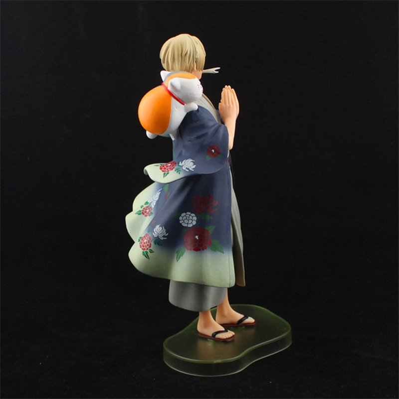 Anime Natsume Yuujinchou Nyanko Sensei Takashi Cat Neko PVC Action Figure Model Toys Cute Figuras Dolls Gift 20cm  (3)