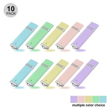 10pcs/lot Candy Color Mini USB 3.0 Flash Drive 64GB Pen Drive 32GB 16GB 8GB External Memory Stick Jump Drives Keychain Bulk