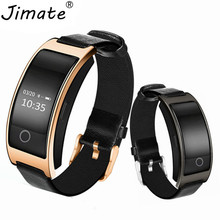 Jimate CK11S Smart Bracelet Bluetooth Blood Pressure Blood Oxygen Heart Rate Monitor Passometer Wristband For IOS And Android(China)