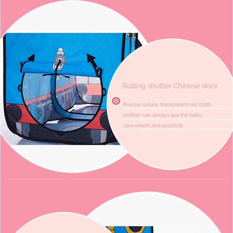 HTB1JJShRFXXXXbzXVXXq6xXFXXXa - The Train Play Vehicle Toy Tent For Children Pop Up Playhouse Kids Game House Child Baby Portable and inflatable Tents