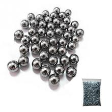 "wholesale 5/16"" (8mm) Steel Balls Hunting Slingshot Stainless AMMO outdoor Free Shipping 100pcs/lot"