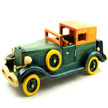 Cosette Wooden Car Model Home Decoration Multi-Pattern Handmade Collection