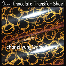50pcs Chocolate Transfer Sheet,White Lace Chocolate Decoration,Cake Decoration,DIY Chocolate Mold,Bakery Tools(China)