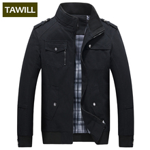 TAWILL 2017 New Casual Men jacket jean Military Army soldier cotton male Brand clothing Spring Autumn Mens jackets JK159