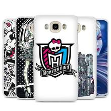 Monsters High design Cell Phone Case Cover for Samsung Galaxy J1 J2 J3 J5 J7 C5 C7 C9 E5 E7 2016 2017 Prime