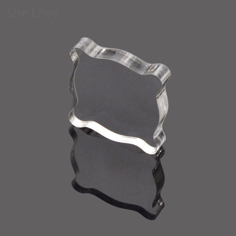 Clear Acrylic Decorative Stamp Block for DIY Scrapbooking Photo Album Embossing Handle Starter Shape Craft<br><br>Aliexpress