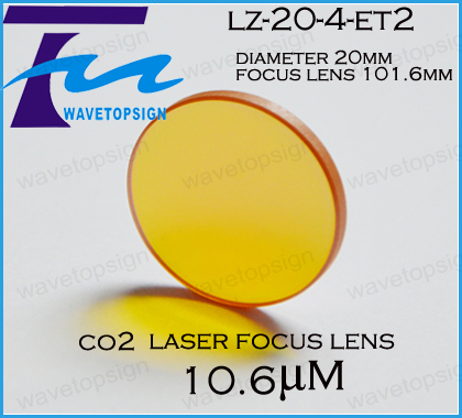 free shiping co2  focus lens diameter 20mm lens 101.6mmuse for co2 laser engraving and cutting machine<br><br>Aliexpress