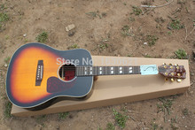 2015 New + Factory + Chibson J45 Custom Acoustic Guitar Spruce Top J45 Electric Acoustic Custom Inlays Acoustic Guitar